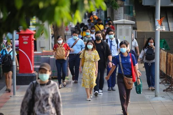 people mask 600x400 - Five new COVID-19 cases are recorded in Thailand on Sunday