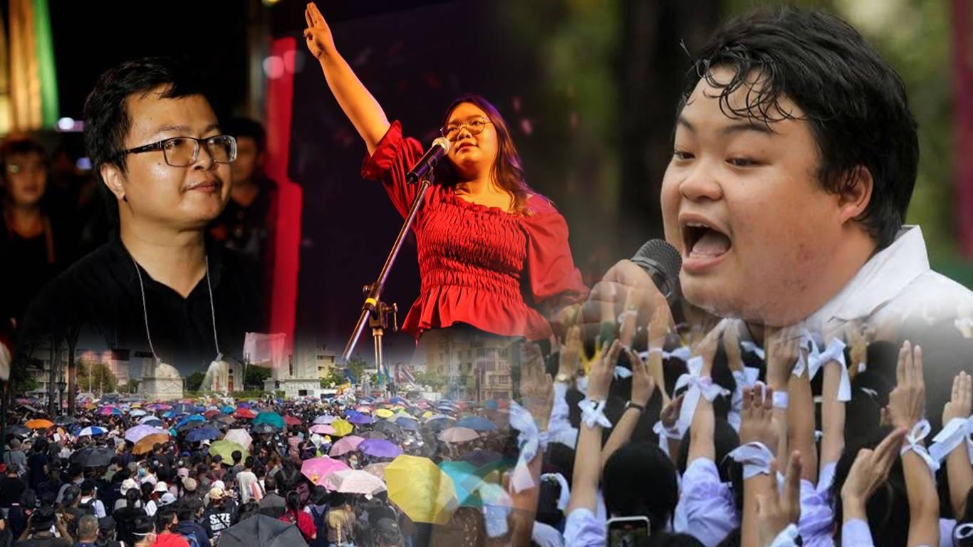 Three activists who break Thailand's deepest taboo   Thai ...