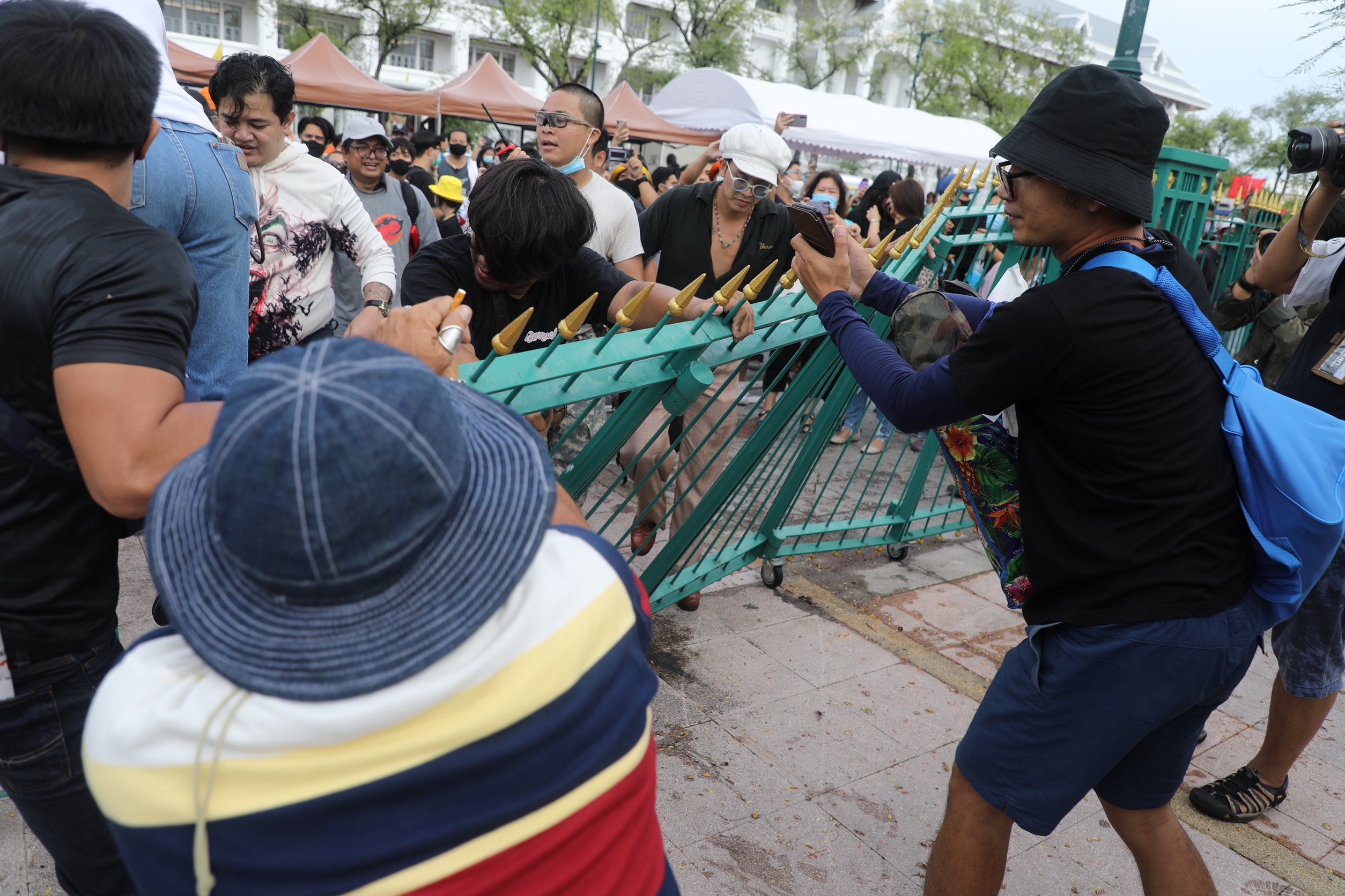 Thailand Protests in Pictures   Thai PBS World : The ...