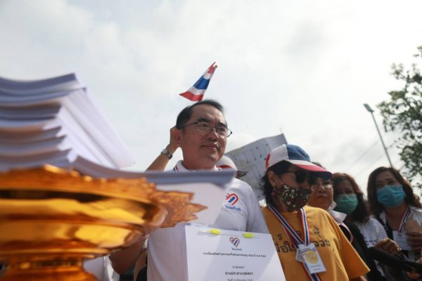Thai royalist group submits 130k signatures opposing charter amendments
