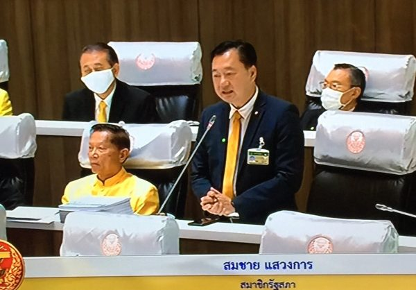 Senator Somchai urges protesters to demand reform of Thai politicians, not Monarchy