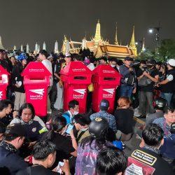 Thailand Monarchy reform protest