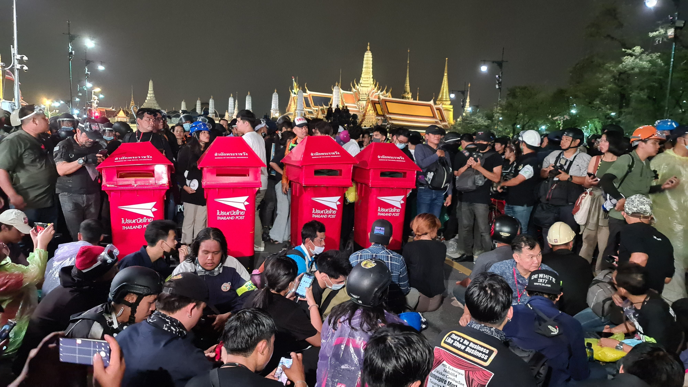Thailand Monarchy reform protest
