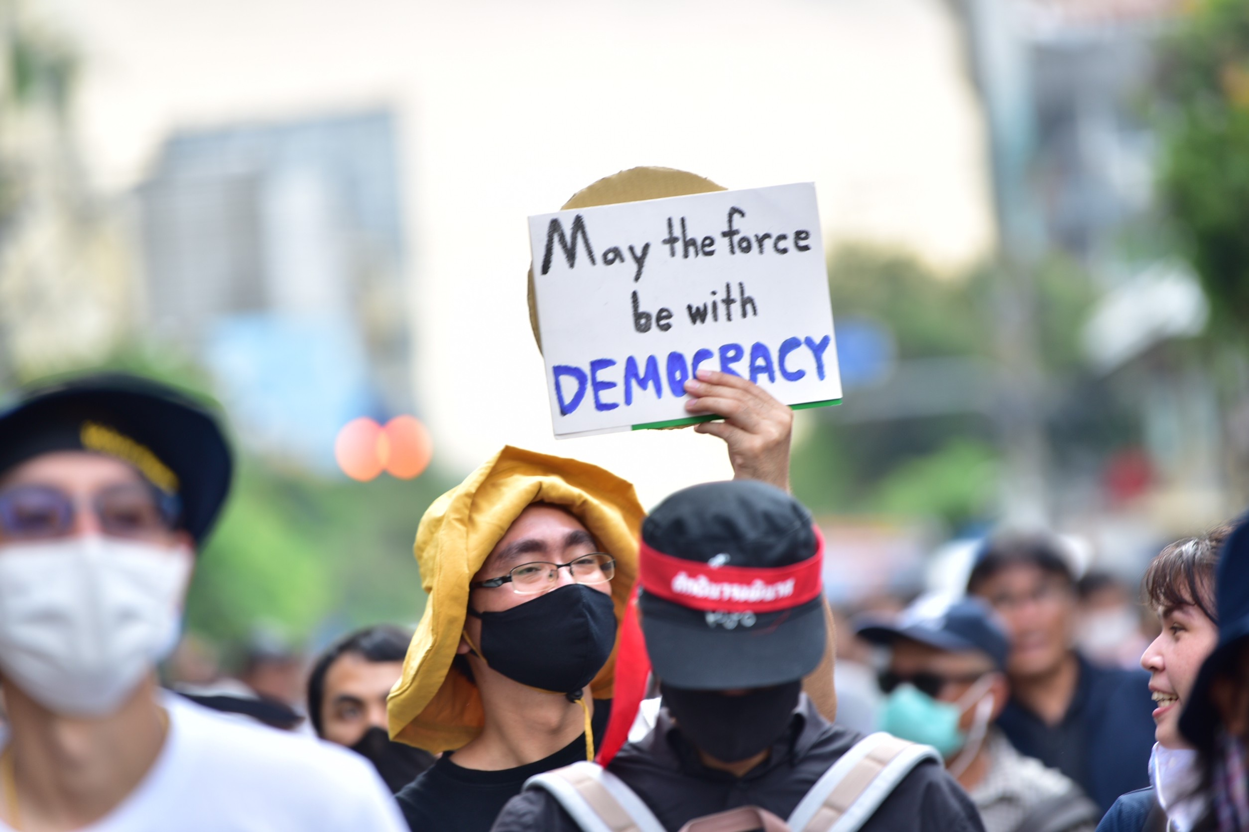 Democracy protest Thailand