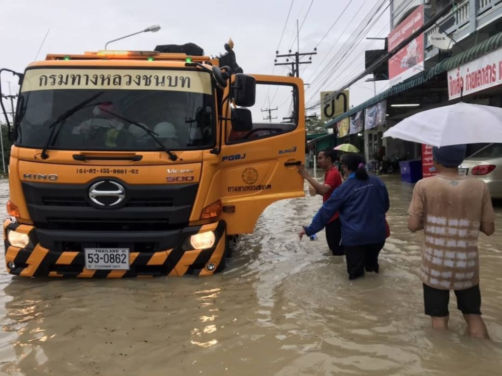 Five drown in Nakhon Si Thammasat as floods hit Thailand's southern provinces