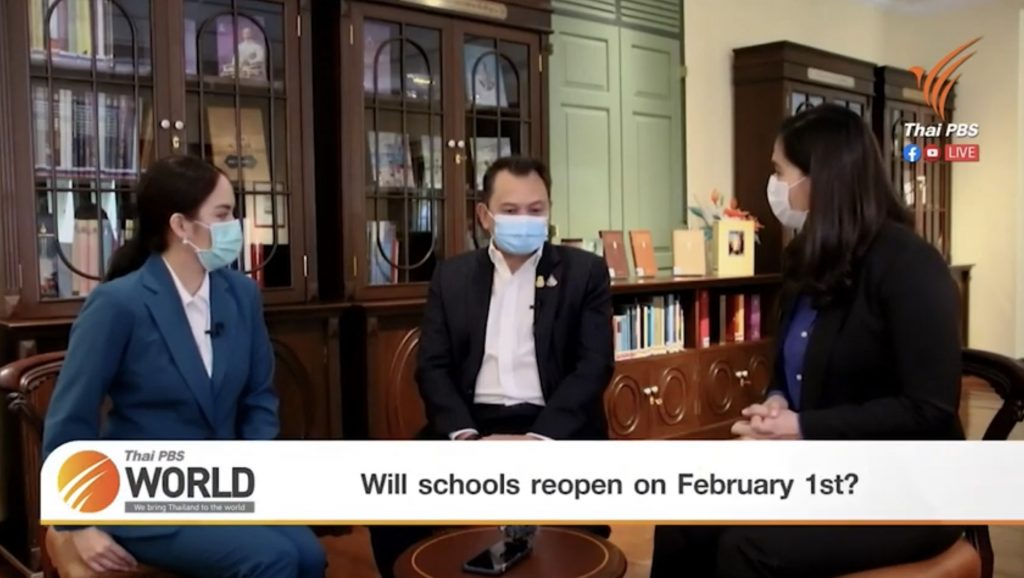 Will schools reopen on February 1st? – Special Interview with Thailand's Education Minister