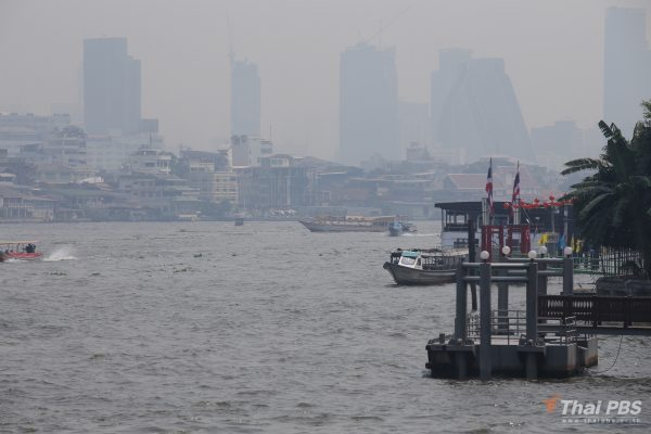 59 areas in Bangkok and its suburbs affected by excessive PM2.5 dust