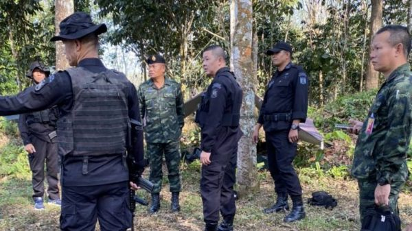 Two rangers killed and one injured in an ambush in Thailand's Narathiwat province