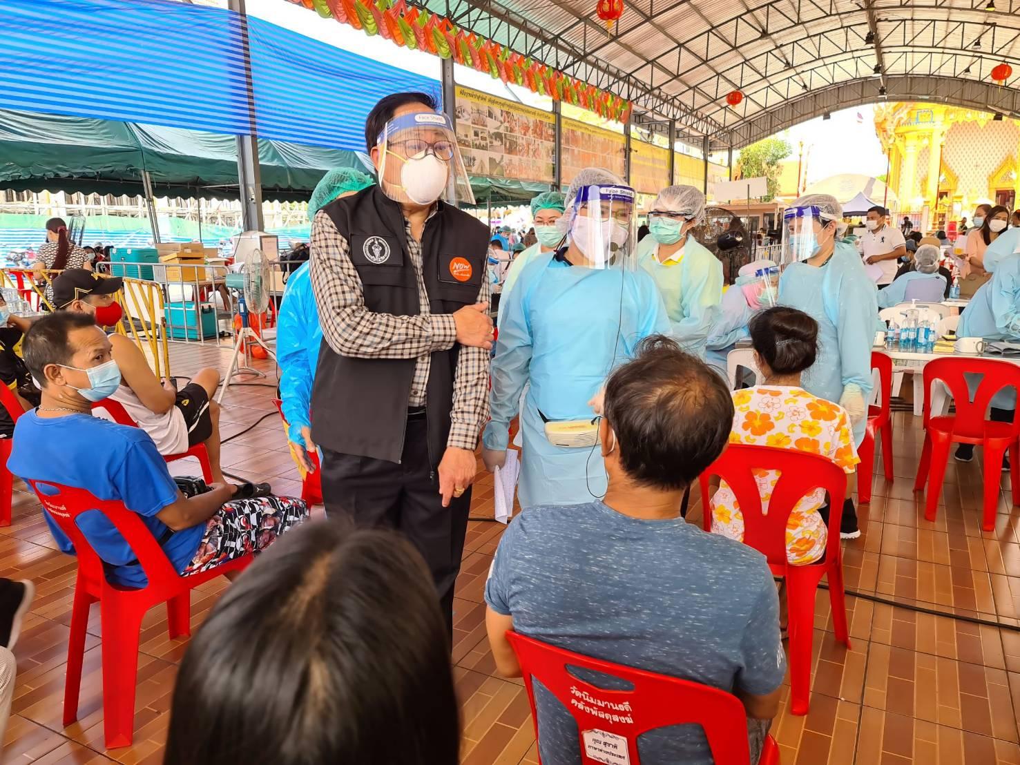 Bang Khae COVID-19 proactive testing