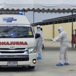 Thailand hospital ambulance