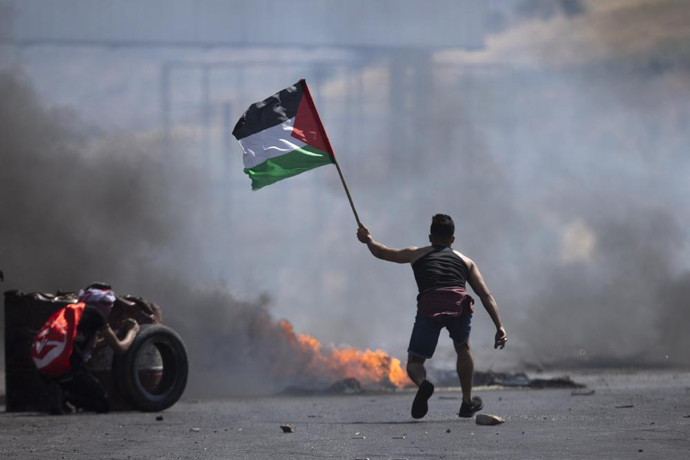 West Bank erupts in protest amid more Israel-Hamas fighting