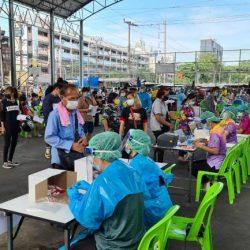 Central Din Daeng Market, COVID-19, Bangkok