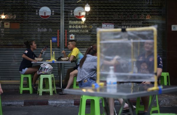 COVID-19, eateries, Bangkok, ease restrictions