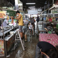 market, Bangkok, disinfection