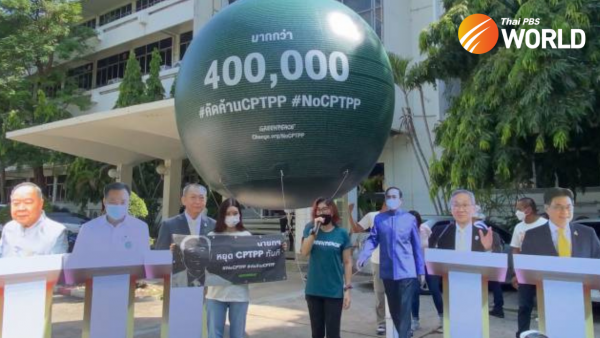 400,000 join Greenpeace's campaign to stop Thailand joining CPTPP